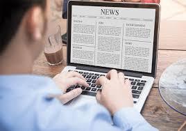 انواع الصحف الالكترونية