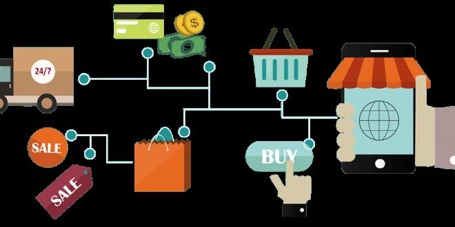 مجالات التجارة الالكترونية.