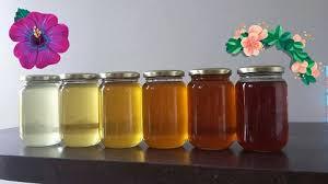 الوان العسل