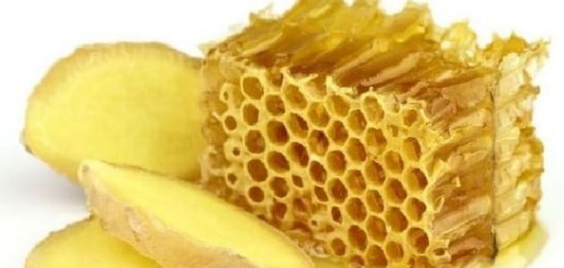 فوائد الزنجبيل والعسل لهرمون الحليب