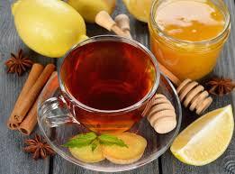 العسل والليمون للكحة