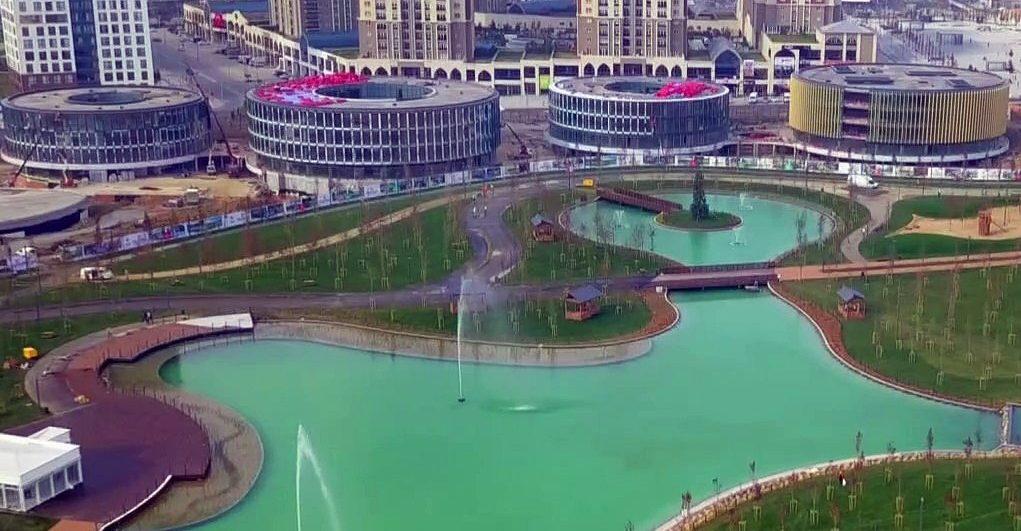 الحديقة المائية في باشاك شهير