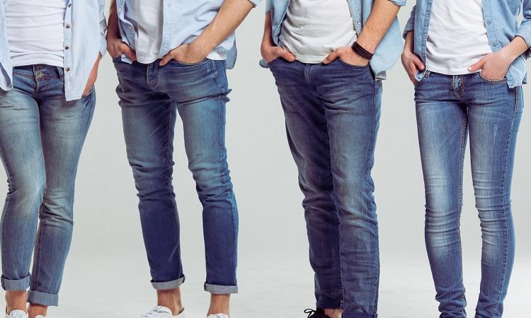 بنطلون جينز رجالي كلاسيك