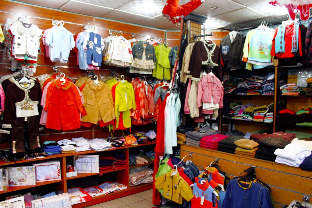 سوق ملابس الاطفال الجملة في اسطنبول