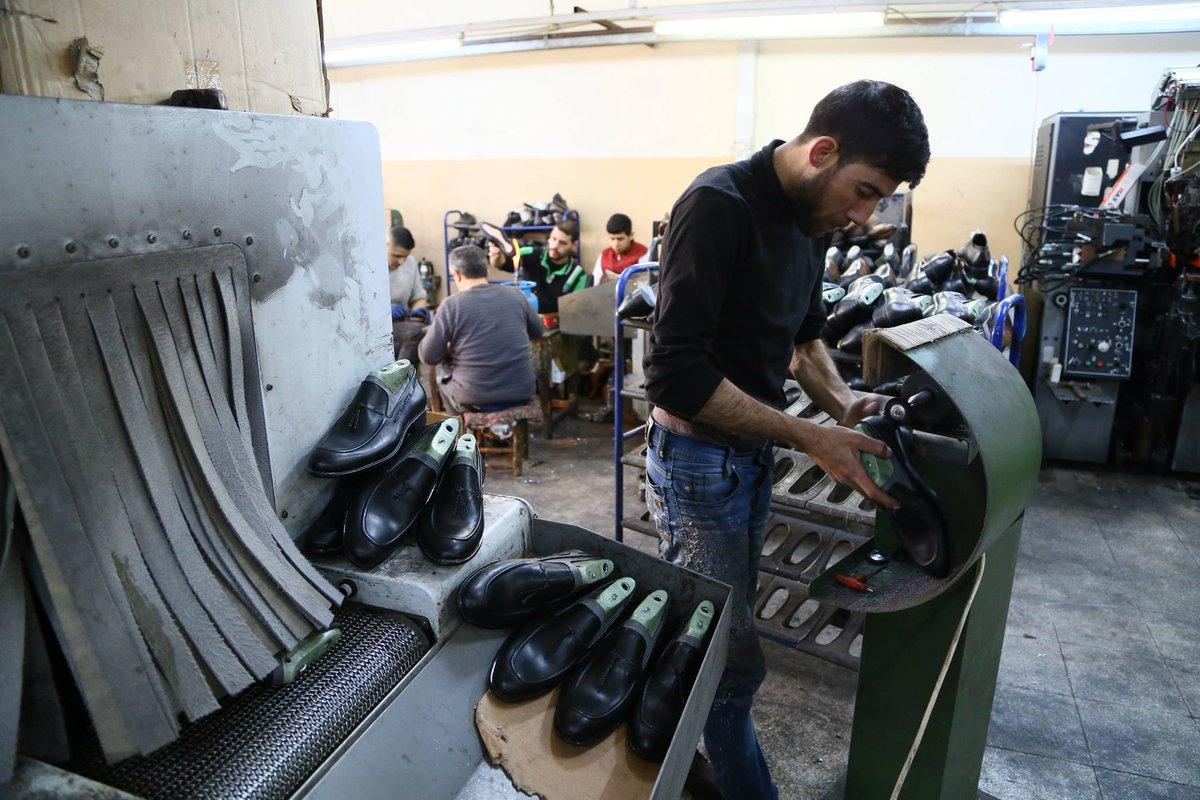 مصانع الاحذية في تركيا