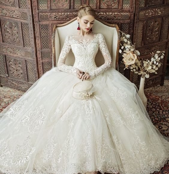 اسعار فساتين الزفاف في اسطنبول
