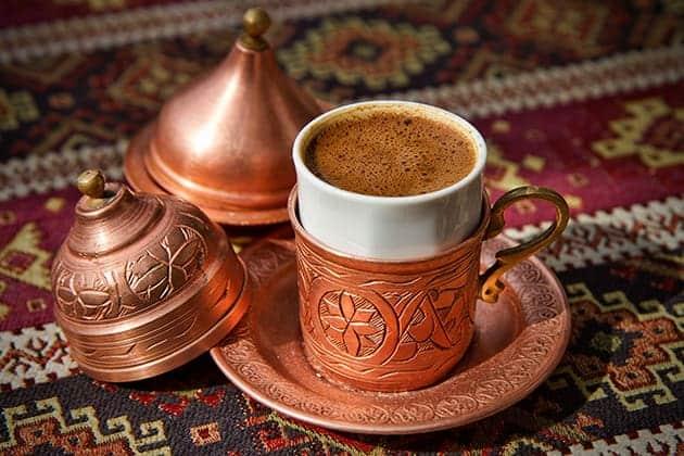 استيراد القهوة من تركيا