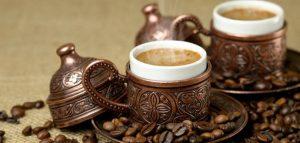 بيع القهوة في تركيا