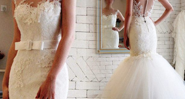 جملة فساتين الزفاف