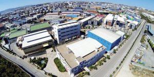 المدن الصناعية في تركيا