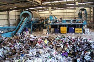 مشروع مصنع تدوير القمامة