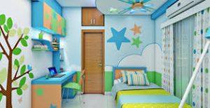 ديكورات غرف نوم اطفال،